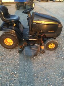 Poulin Pro Riding Mower Stratford Kitchener Area image 1