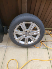 Audi A4 Alloy and Tyre