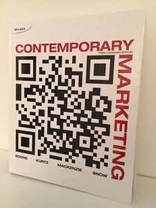 Contemporary Marketing - 3rd Can.Ed.
