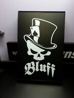 "LITESIGNS.ca - ENSEIGNE LUMINEUSE ""POKER SKULL"" LUMINOUS SIGN"