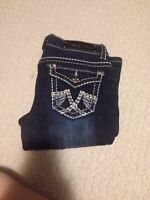 Miss chick jeans!