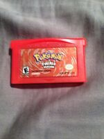 Pokemon Fire red and other Gba games