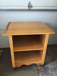 Solid Wood Shelving Unit/Table