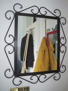 Brand New Wrought Iron Framed Mirror