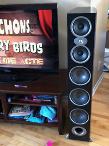 Speakers Polk rtia9 500w   noirs bonne condition 800$