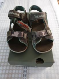 Brand New Boys Timberland Sandals size 12.5