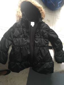 Manteau hiver fille