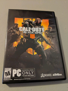 Black Ops  PC new