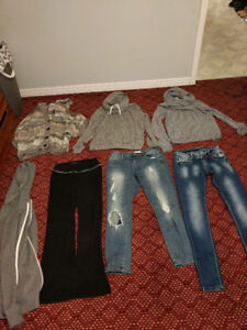 Various clothes like new