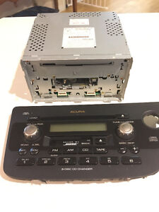 Acura RSX oem bose stereo (6 disk CD changer)