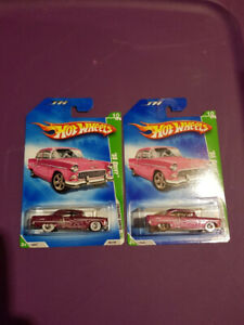 2009 Hot Wheels Super & Regular Treasure Hunt 55 Chevy