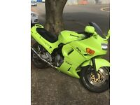 Kawasaki zzr600 excellent condition