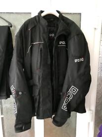Motor bike jacket and trousers set