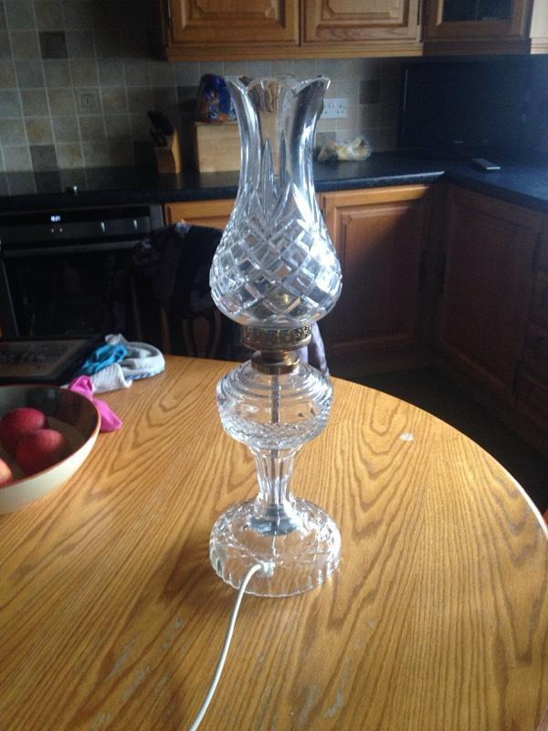 Waterford Crystal Lamp In Ahoghill County Antrim Gumtree