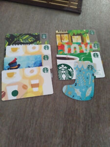 115$ worth of  Starbucks gift cards