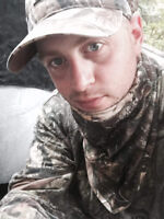 Bear, coyote hunter looking for private property