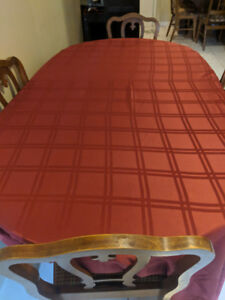 Fruit wood table and chairs
