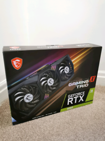 MSI GeForce RTX 3060 12GB GAMING X TRIO Graphics Card