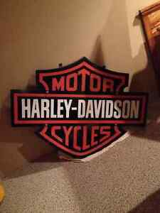 Large Harley Davidson Sign