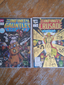 Infinite Gauntlet and Crusade #1 Issues