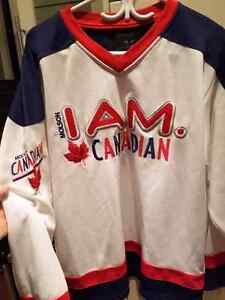 """I AM CANADIAN"" Molson - Hockey Jersey - *PICK UP ONLY *"