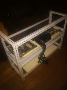 MINING RIG FRAME 2 STORIES FOR 36 CARDS