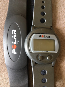 POLAR T31 HR belt and Multifunction watch