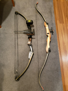 Compound bow and bows
