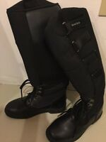 Winter riding boots size 8