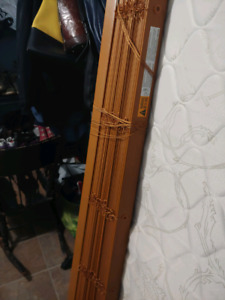 WOOD BLINDS   $20