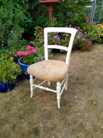 Antique Chair, very old, could be returned to its original finish.
