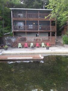 Charleston Lake Cottage Rental