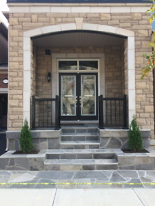 Stone Mason available for Porches, Patios and Walkways etc.