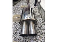 (R56) Mini Cooper s stainless exhaust