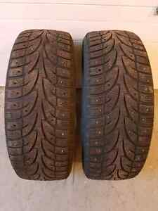 2 WinterClaw ExtremeGrip Winter Tires - 195/60r15