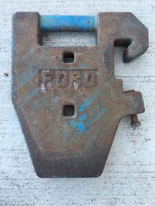 Ford Suitcase, NH & JD Weights, Bolens wheel weight