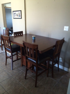 Ashley Furniture Dining Table seats 6