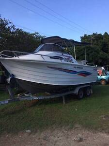 Qrintrex Offshore 610 150 two stroke optimax Cooya Beach Cairns Surrounds Preview
