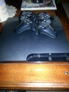 Ps3 and 2 controllers for sale.