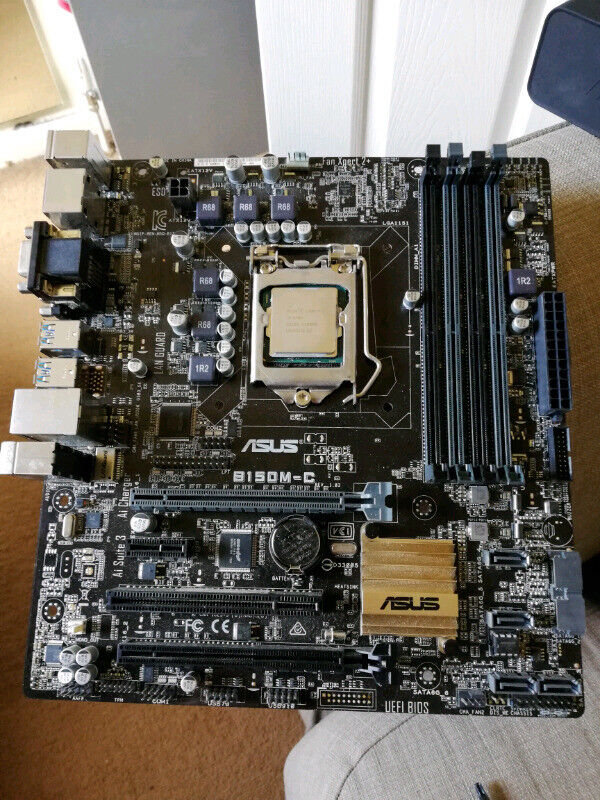 Intel i5 6500 CPU with Asus b150m-c Motherboard | in Edinburgh City Centre,  Edinburgh | Gumtree