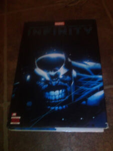 Marvel's Infinity, Hard Cover Comic