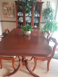 Beautiful antique dining room table