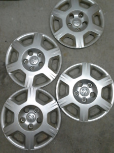 16 inch Dodge Bolt-on Hubcaps