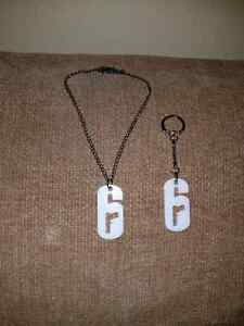 Rainbow six siege dog tags