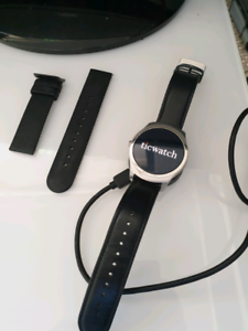 Used Ticwatch 100% perfect functional.