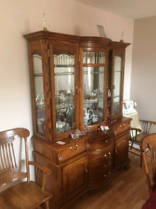 Hutch and table for sale