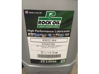 25L Drum of Rock Oil Motorcycle Semi Synthetic Engine Oil