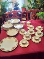 RETRONEU FINE CHINA DISHES *ENGLISH ROSES*