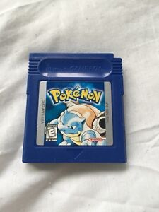 Pokemon Blue version *Saves and works*