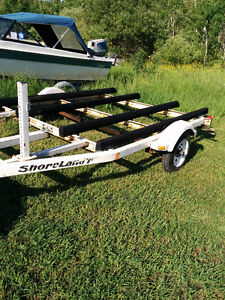Awesome double seadoo trailer
